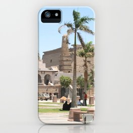 Temple of Luxor, no. 16 iPhone Case