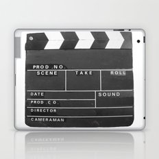 Film Movie Video production Clapper board Laptop & iPad Skin