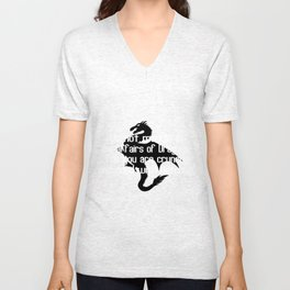 Do not meddle in the affairs of dragons for you are crunchy and good with ketchup Unisex V-Neck