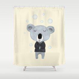 koala bubbles Shower Curtain