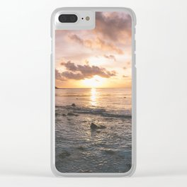 Caribbean Sea, Mayan Riviera Clear iPhone Case