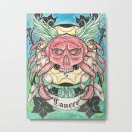 Horroroscopo Cancer  Metal Print