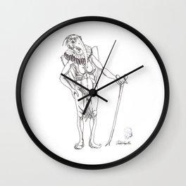 Doña Flora - Mrs. Flora Wall Clock