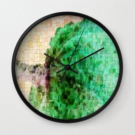 Dew Mosaic Wall Clock