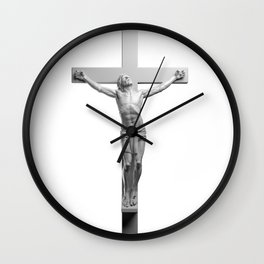 Jesus On The Cross Wall Clock