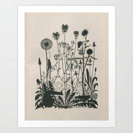 Nouveau Nature Art Print