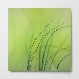 Sway  (Grass) Metal Print
