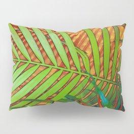 TROPICAL LEAVES POP-ART no2 Pillow Sham