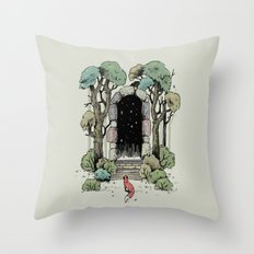 Forest Gate Throw Pillow