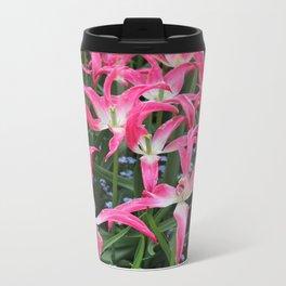 Spent Tulips Metal Travel Mug