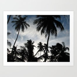 Carneiros beach Art Print