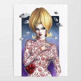 Mars Attacks Martian Girl Poster