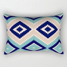 navajo blue Rectangular Pillow