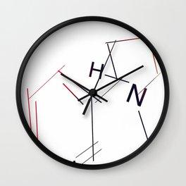 Nicotine Wall Clock