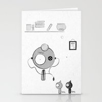 doctor Stationery Cards featuring Doctor by iodine