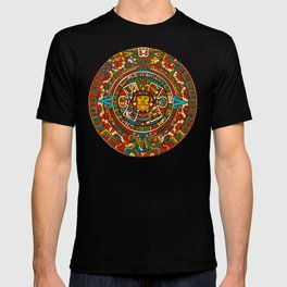 Aztec Mythology Calendar T-shirt