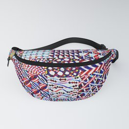 Pigmented Pattern Parade Fanny Pack