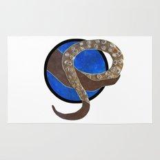 Creature of Water (porthole edit) Rug