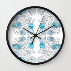 blue perversion Wall Clock