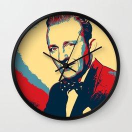 Bing Crosby Poster Art Wall Clock