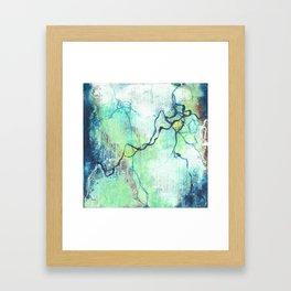 Electrostatic Frequency Framed Art Print