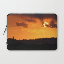 Glorious Golden Sunset Laptop Sleeve