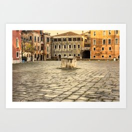 Venetian Ghetto Art Print