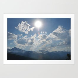Shine Down Art Print