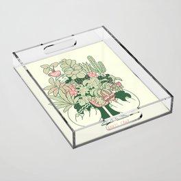 Plants Club (boy) Acrylic Tray
