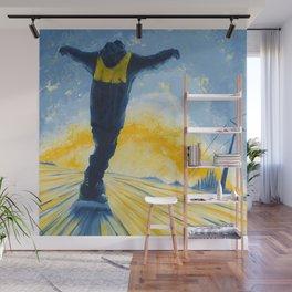 Salute The Sun Wall Mural