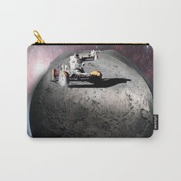 Moon race to the dark side of the moon. Carry-All Pouch