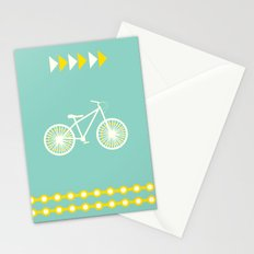 Saturday Bike Ride Stationery Cards