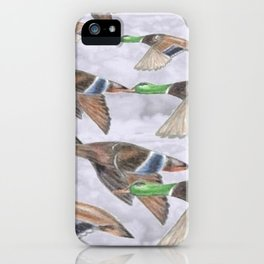 """ Migration "" iPhone Case"