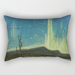 Northern Lights - Tom Thomson Rectangular Pillow