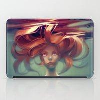 mermaid iPad Cases featuring Mermaid by loish