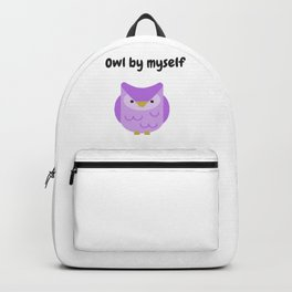 Owl by Myself Backpack
