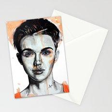 Ruby Rose Stationery Cards