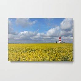Happisburgh Lighthouse,Norfolk,UK Metal Print