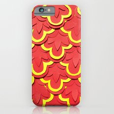 Red Shells Papercut iPhone 6s Slim Case