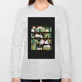Library cats Long Sleeve T-shirt