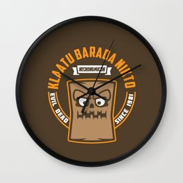 Book of the Dead Wall Clock