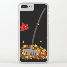Best Friends: Rake and his Leafy Pals Clear iPhone Case