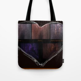 Getting There (Focusing On the Emotion) Tote Bag