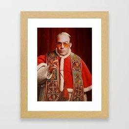 Saint Gonzo Framed Art Print