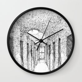 NYC Apartment Hallway Wall Clock