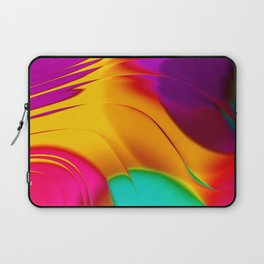 Abstract Color Parade Laptop Sleeve
