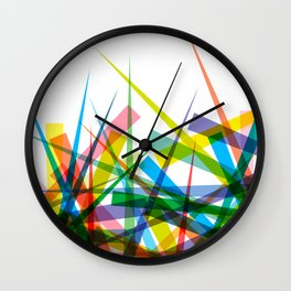 Spiky Garden Wall Clock