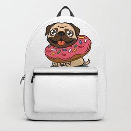 Pug & Donut Backpack
