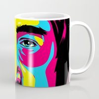 leon Mugs featuring Leon Mozes by shizoy