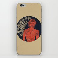 snatch iPhone & iPod Skins featuring Snatch by javier millan